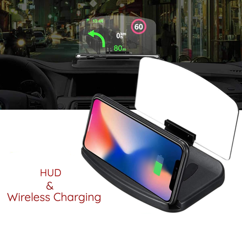 Head Up Display + Wireless Phone Charger