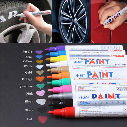 Professional Paint Pen - Scratch Repair and Tire Paint