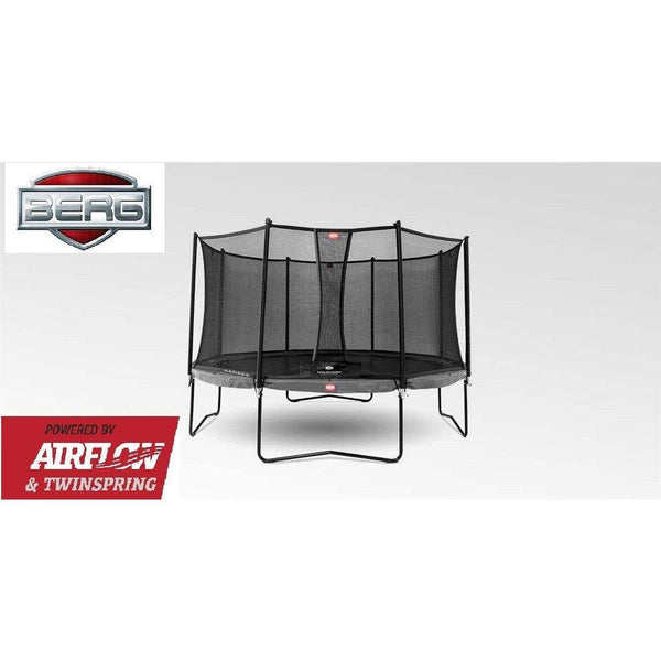 Trampolin - BERG Champion Grey 380 Sicherheitsnetz Comfort,, 35.42.94.01