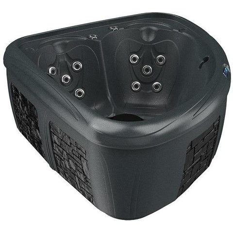 Wärme Therapie / Massage - Dreammaker Whirlpool Modell Fantasy Schwarz Diamond / Stein, 315000100