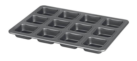 International Platinum series Square Brownie Pan 12 cup