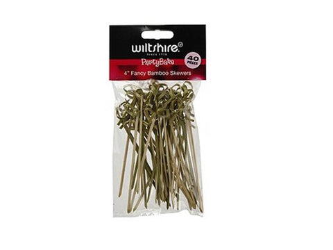 "Wiltshire 4"" Fancy Bamboo Skewers"