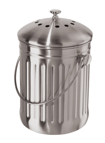 Stainless Steel Counter Top Compost  Bin