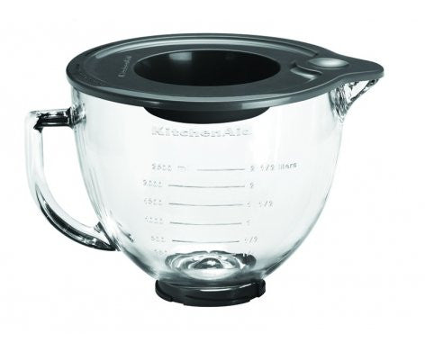 Glass Bowl 4.7L For Kitchen Aid