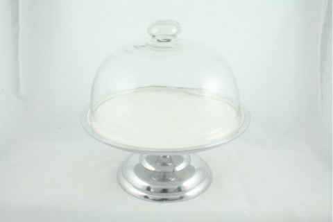 Vanillaware Cake Stand with Glass Lid