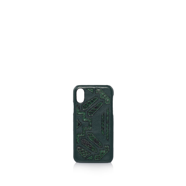 Etienne phone case X | Mono Emerald