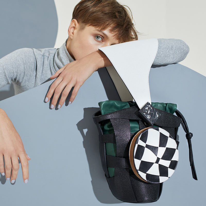 CIRCLE BAG | CHECKER