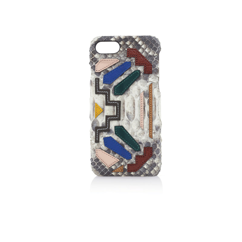 ETIENNE PHONE CASE | WHITE RAINBOW