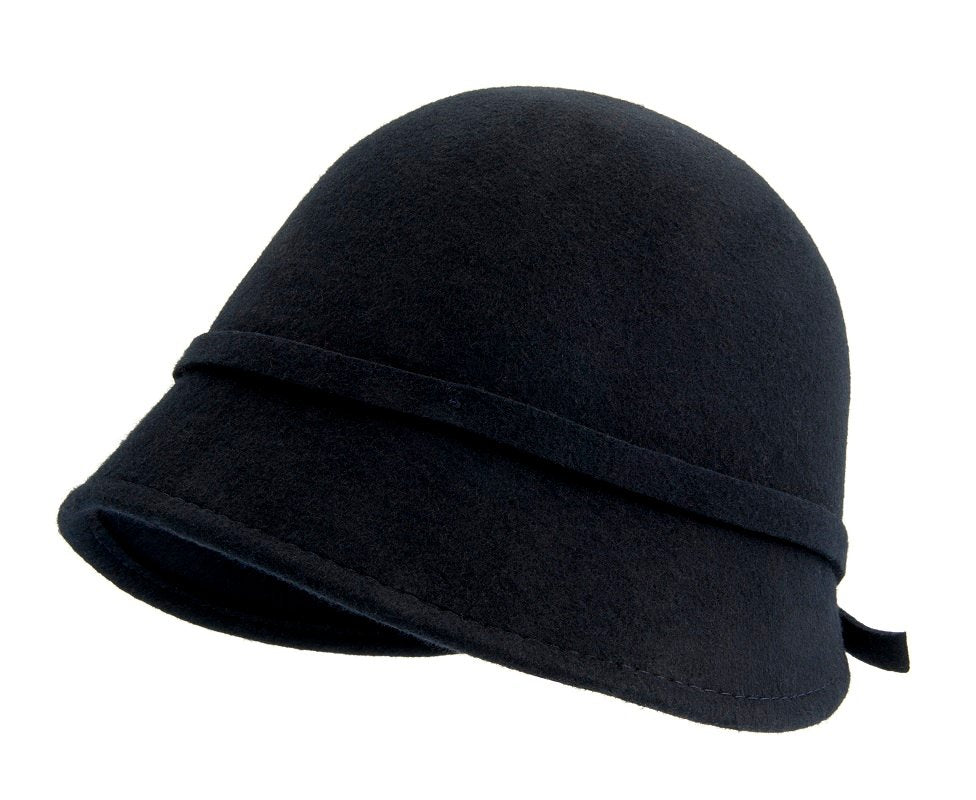 Felt hat - Analise Sr. Cloche felt hat Marin - CTH Ericson of Sweden