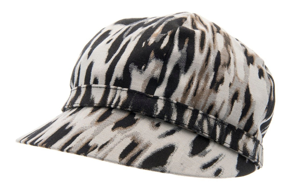 Women's Hat - Helena Sr. Leopard Black - CTH Ericson of Sweden