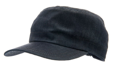 Army cap - Fabien Jr. Denim Blue - CTH MINI