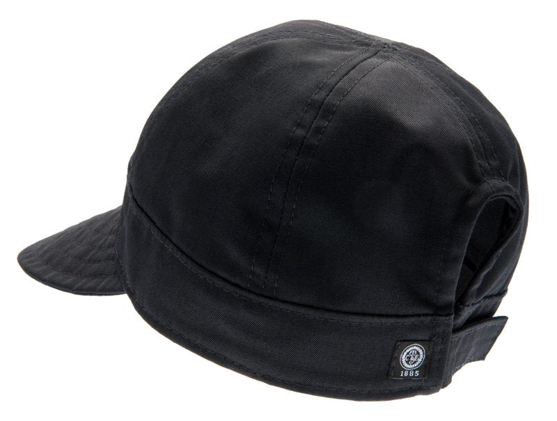 Women's cap with large peak - Laura Sr. Twill Black - CTH Ericson