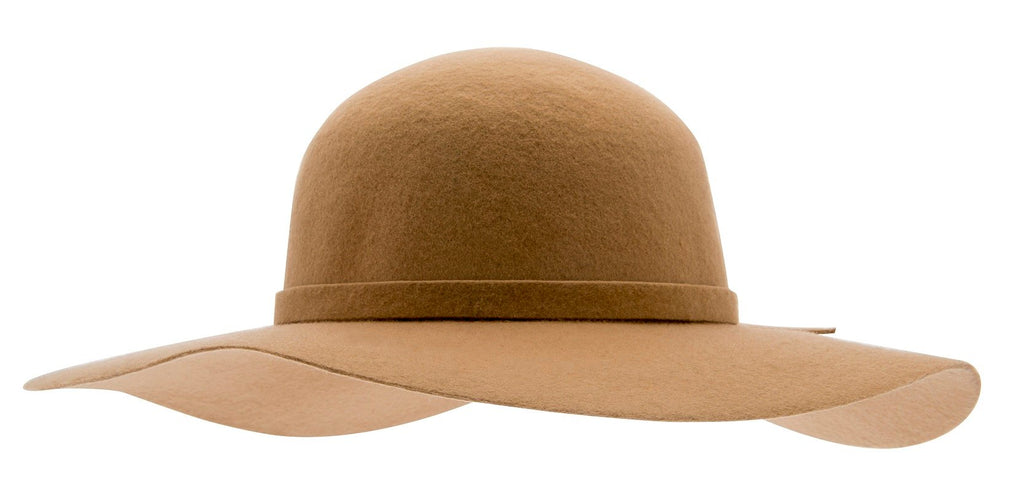 Amy Sr. Floppy felt hat Camel