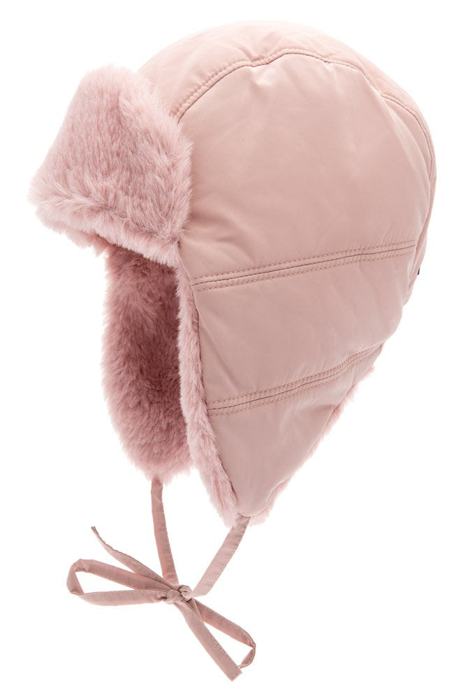 Kids winter hat - Amos Jr. Memory Pink - CTH MINI