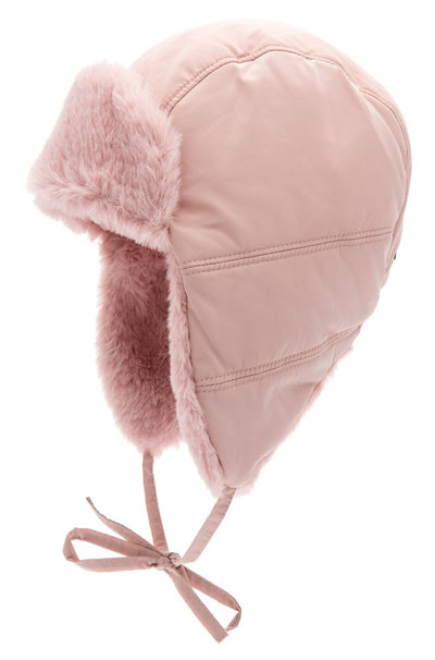 Trapper hat - Amos Jr. Memory Pink - CTH MINI