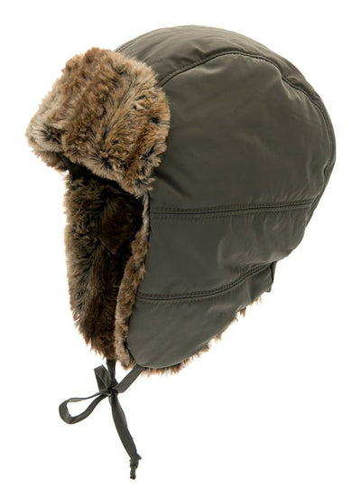 Trapper hat - Amos Jr. Memory Olive - CTH MINI
