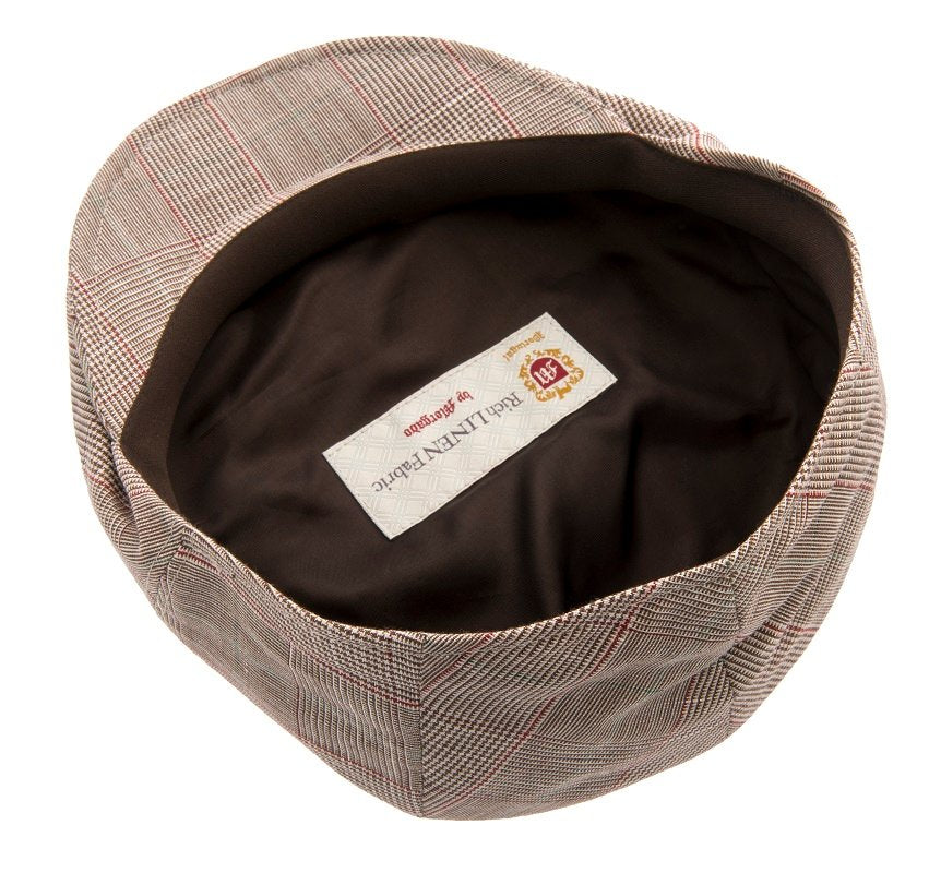 Flat cap - Edward Sr. Estate Brown - CTH Ericson of Sweden