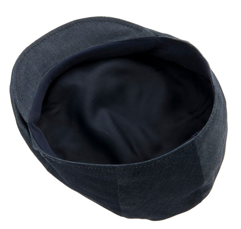 Flat cap - Edward Sr. Denim Blue - CTH Ericson of Sweden