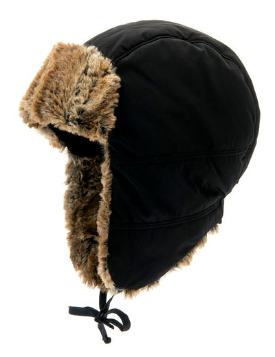 Trapper hat - Amos Jr. Memory Black - CTH MINI
