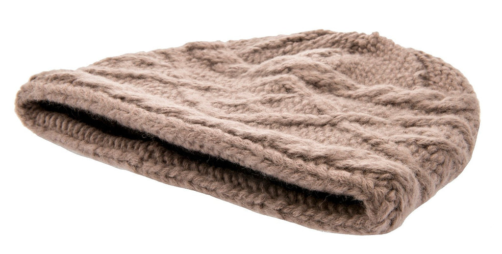 Beanie - Tina Sr. Knitted Beanie Sand - CTH Ericson of Sweden