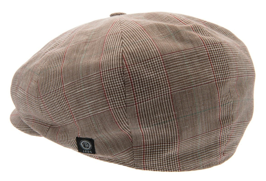 Newsboy cap - Wilson Sr. Estate Brown - CTH Ericson