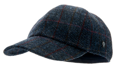Baseball - Ingvar Sr. Harris Tweed Overcheck Blue - CTH Ericson