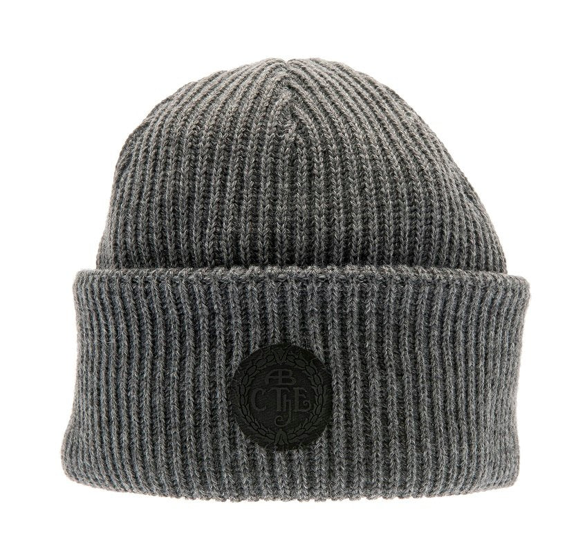 Watch Cap - Tyson Sr. Rib knit beanie grey - CTH Ericson