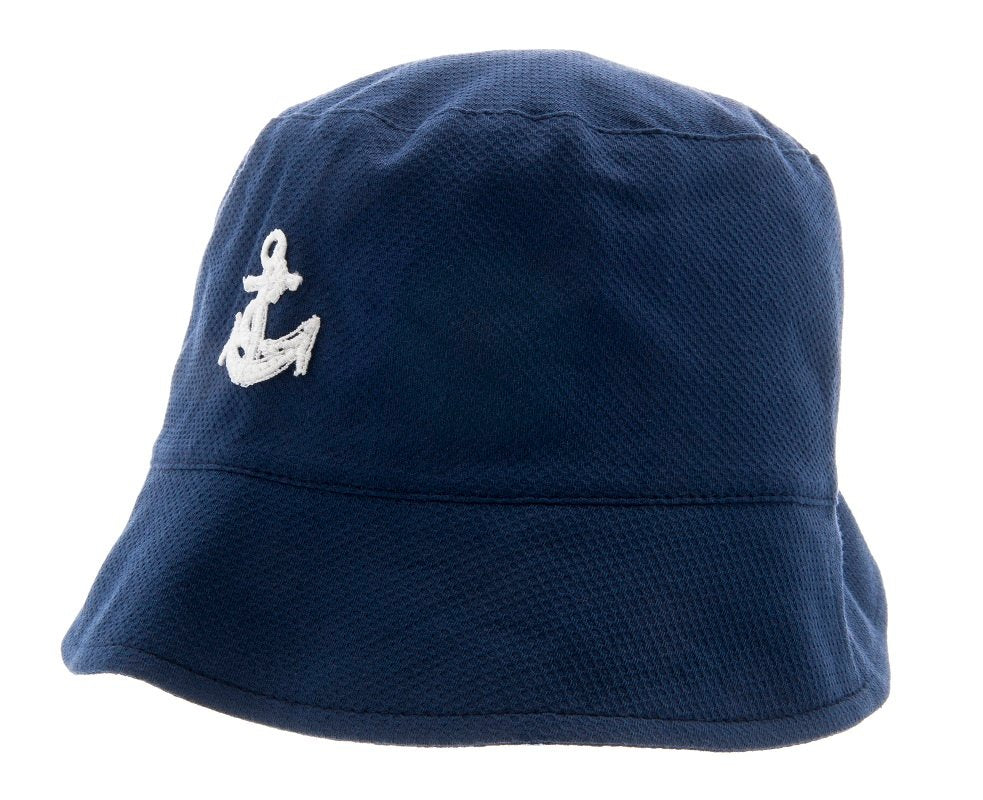 Kids Bucket hat - Jamie Jr. Pique Blue - CTH MINI