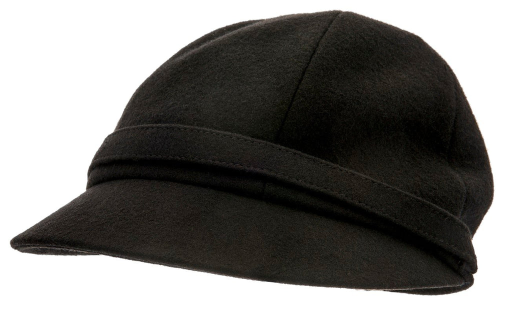 Women's Hat - Helena Sr. Melton Black - CTH Ericson of Sweden