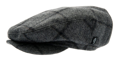 Kids Flat cap - Carl Jr. Granda Graphite - CTH MINI