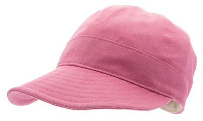 Women's cap with large peak - Laura Sr. Morgado Hot Pink - CTH Ericson