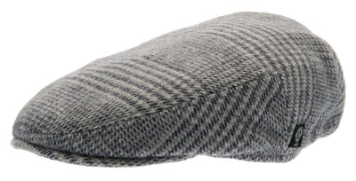 Kids Flat cap - Philip Jr. Glencheck Blue-Grey - CTH MINI