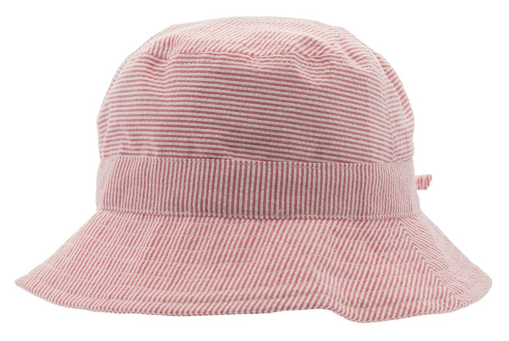 Sun hat - Gillis Jr. Seersucker Red - CTH MINI