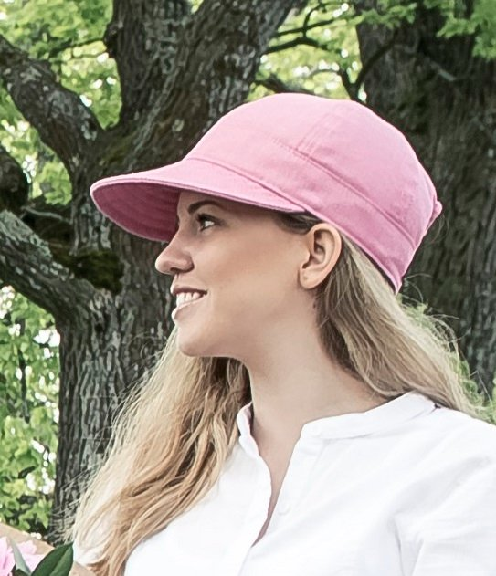 Women's cap with large peak - Laura Sr. Morgado Hot Pink - CTH Ericson of Sweden