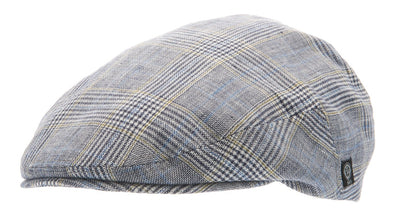 Flat cap - Edward Sr. Plaid Blue - CTH Ericson