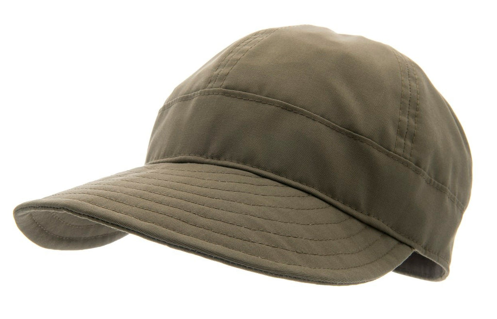 Women's cap with large peak - Laura Sr. Twill Green - CTH Ericson