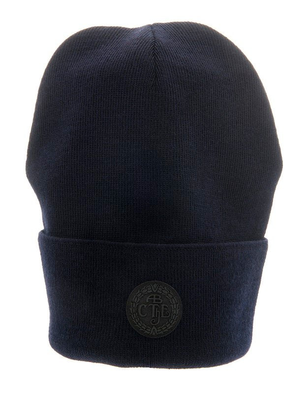 Travis Jr. Flat knit beanie marin - CTH Ericson of Sweden
