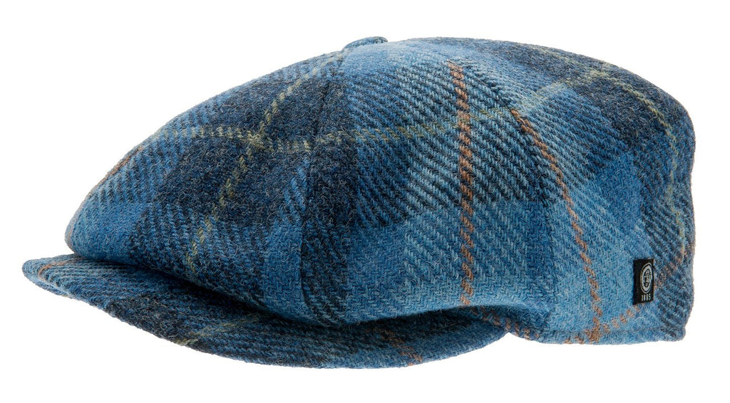 Wilson Sr. Harris Tweed Plaid Blue