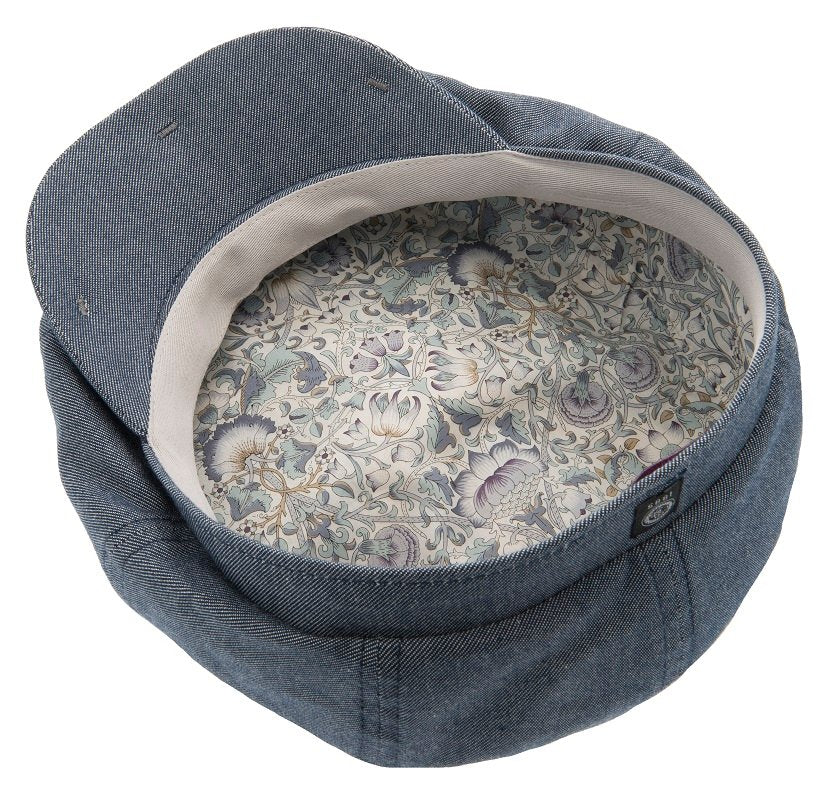 Newsboy cap - Alan Sr. Morgado/Liberty Blue - CTH Ericson of Sweden