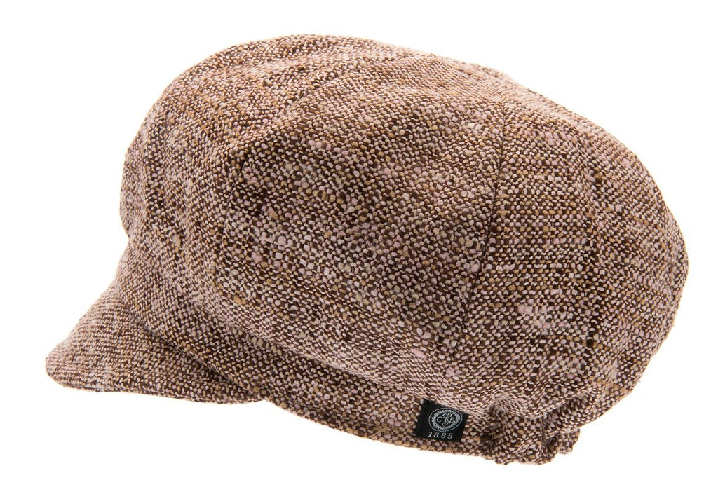 Women's Hat - Regina Sr. Boucle Brown - CTH Ericson