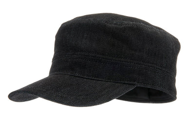 Army cap - Ashton Sr. Denim Black - CTH Ericson