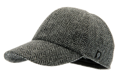 Baseball - Ingvar Sr. Harris Tweed Black - CTH Ericson