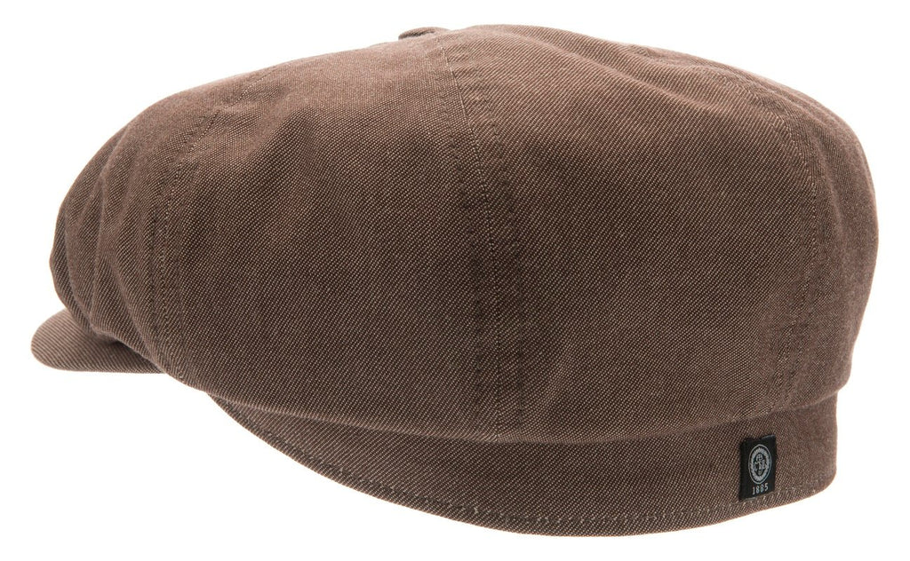 Newsboy cap - Alan Sr. Morgado/Liberty Brown - CTH Ericson of Sweden