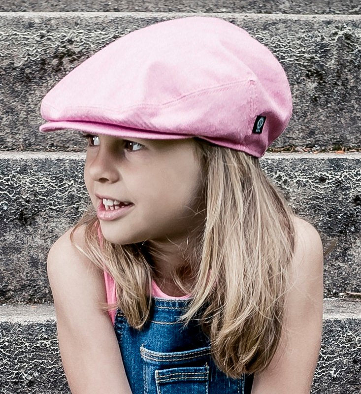 Kids Flat cap - Elton Jr. Morgado/Liberty Hot Pink - CTH MINI