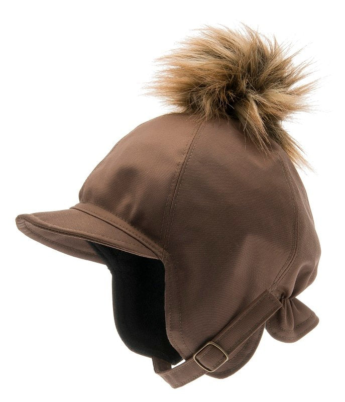 Kids winter hat - Isak Jr. Beaver Brown - CTH MINI