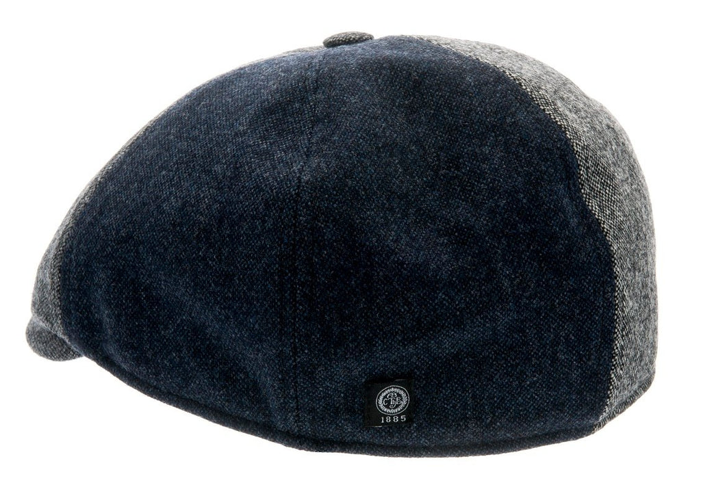 Newsboy cap - Colin Sr. Patchwork Grey - CTH Ericson of Sweden