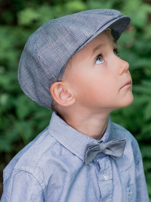 Kids Bow tie - Knut Jr. Estate Blue - CTH MINI