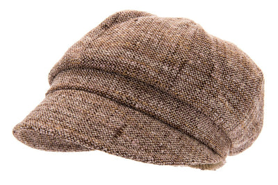 Women's Hat - Regina Boucle Brown - CTH Ericson