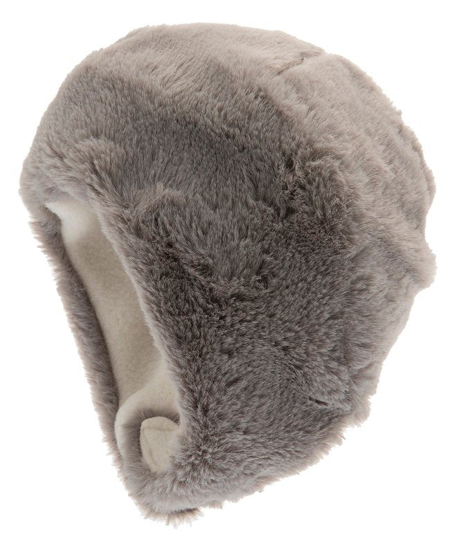 Faux Fur hat - Birgitta Jr. Faux Fur Grey - CTH MINI