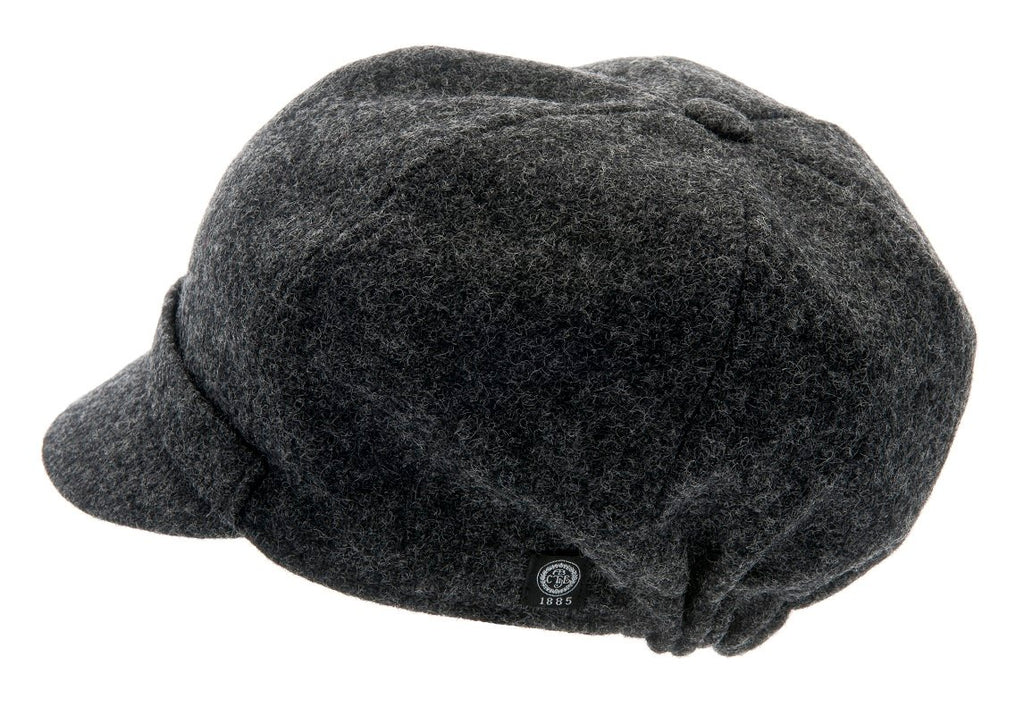 Women's Hat - Helena Sr. Moon Shetland Graphite - CTH Ericson of Sweden